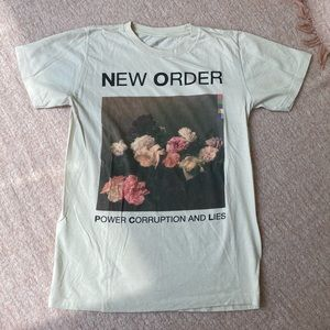 New order graphic band tee